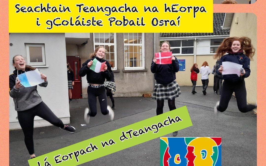 Seachtain Teangacha na hEorpa – European Languages Week