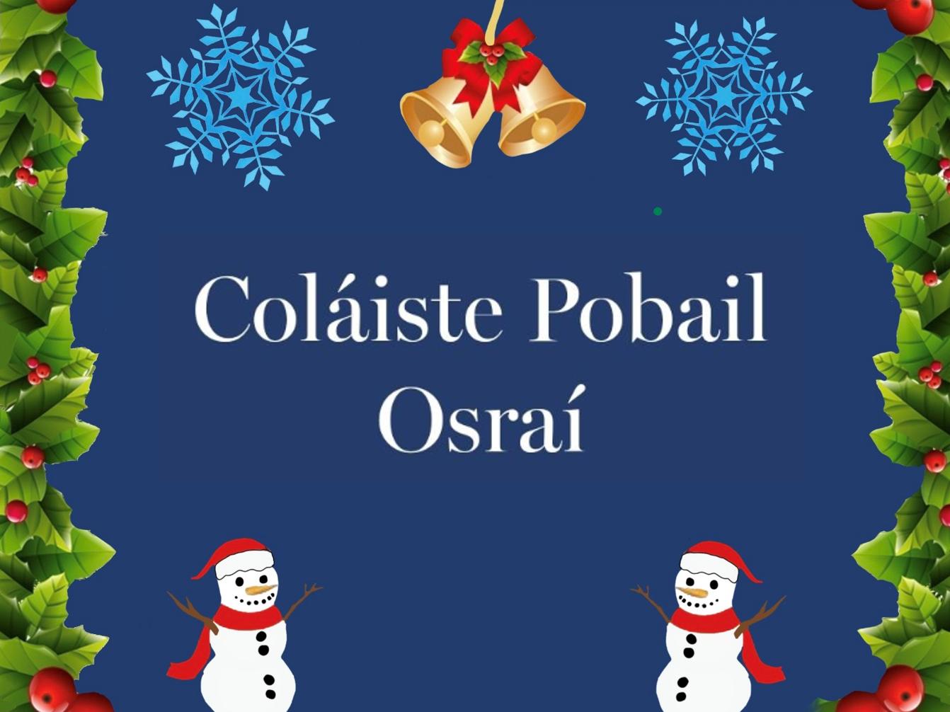 Nuachtlitir na Nollag – Christmas Newsletter
