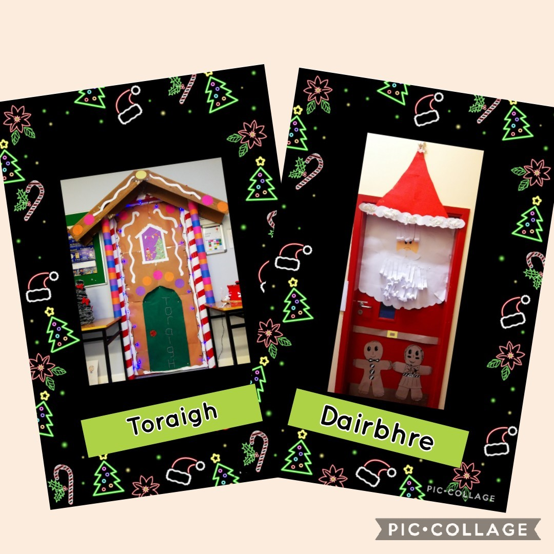 Dóirse Nollag – Christmas Doors