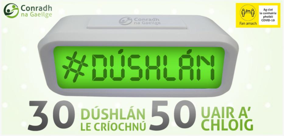 #Dúshlán2021 – Go n-éirí libh! Best of luck!