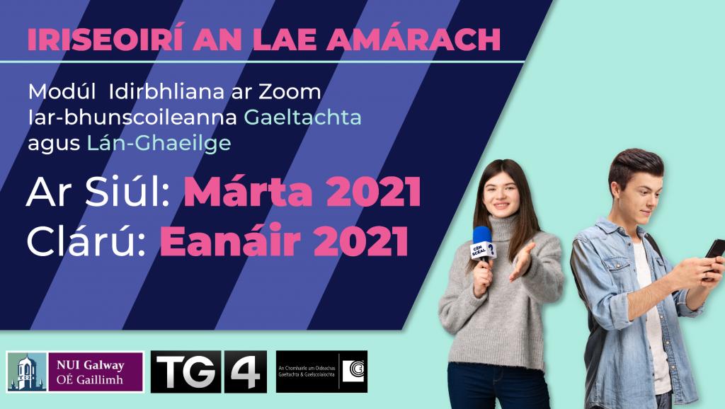 'Iriseoirí an Lae Amárach' journalism course
