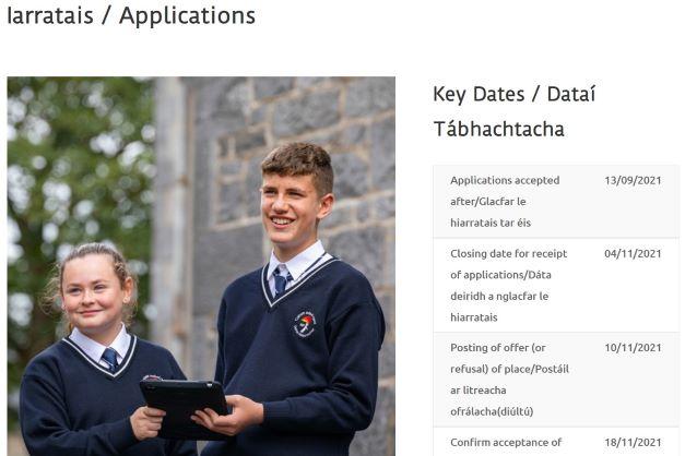 Iarratais / Applications 2022-23